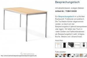 Tisch 300x199 Hochwertige Büromöbel Schultz   ein Mehrzwecktisch